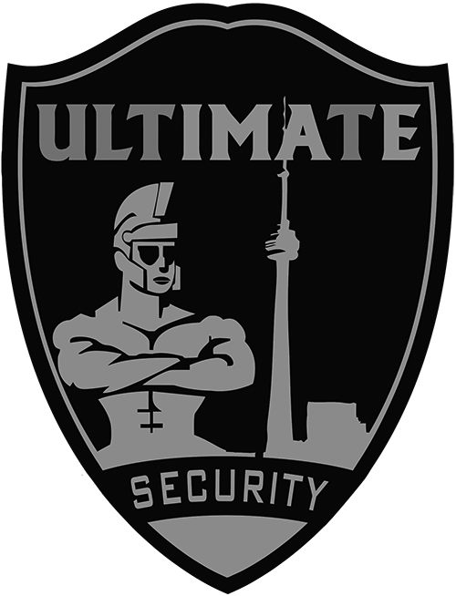 ultimate logo bw